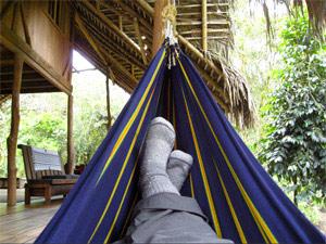 ecuador overnachting