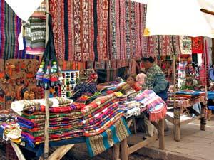 incatrail markt pisac peru ecuador