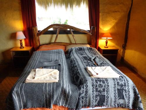 slaapkamer cotopaxi ecuador