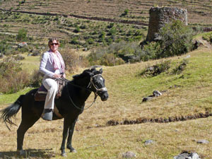 ollantaytambo paardrijden peru ecuador