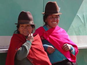 ontmoeting bevolking ecuador reizen