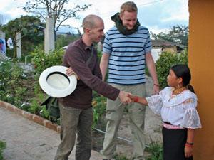 otavalo overnachten familie ecuador