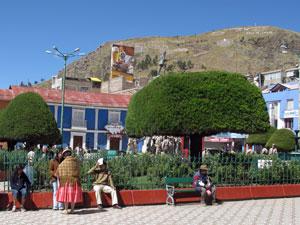 Plaza de Armas Puno
