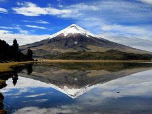 cotopaxi ecuador de vulkaan