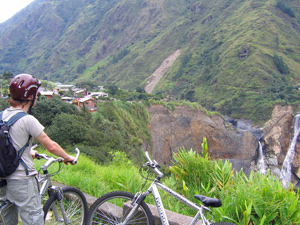 ecuador reizen fiets