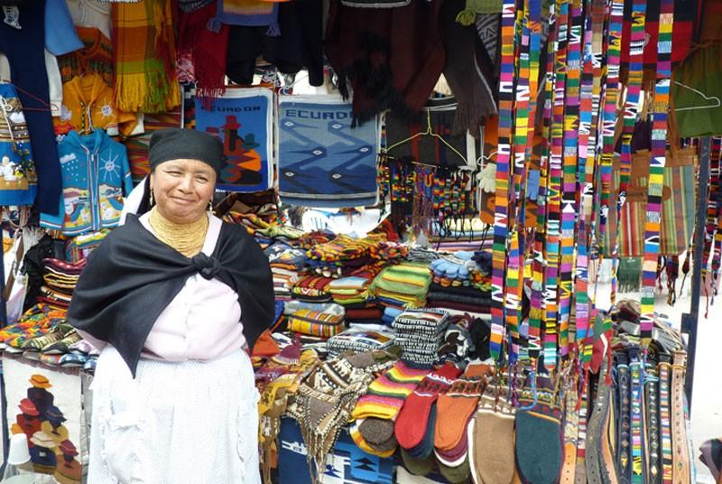 Rondreizen Ecuador - souvenir kopen