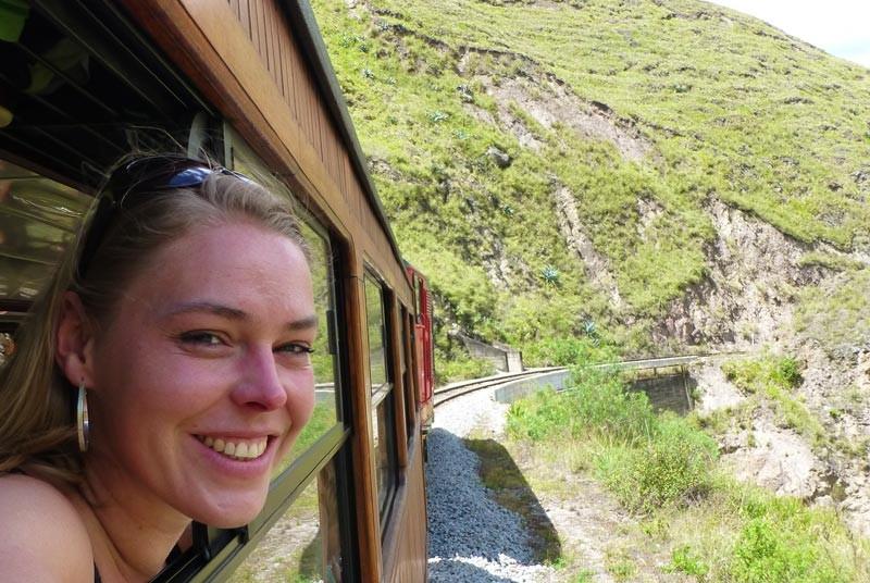 Ecuador vakantie - trein