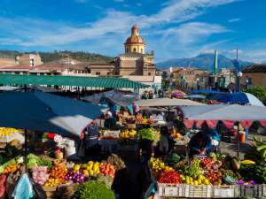Individuele rondreis Ecuador - markt