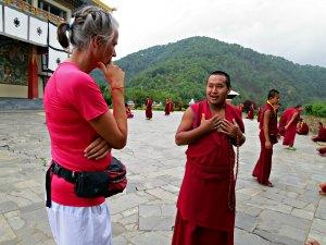 Monnik - bijzondere Nepal reis