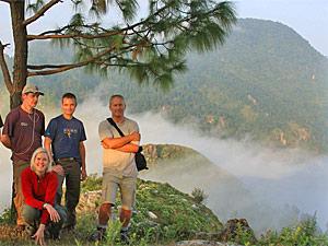Bandipur wandelen Nepal