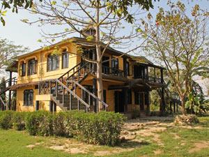 chitwan lodge sapana - Nepal vakantie