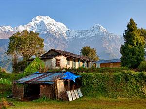 ghandrung poonhill berg - trekking nepal
