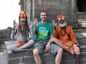 Nepal vakantie - kathmandu saddhu