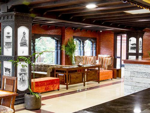 Kathmandu hotel - sfeervol upgrade