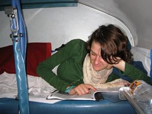 lezen nachttrein reis india