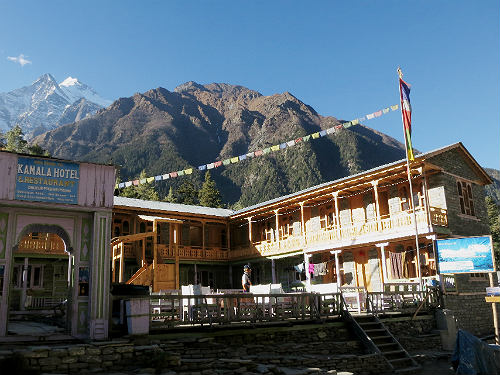 Annapurna Circuit - lodge Nepal