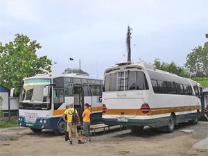 lokale bus nepal rondreis