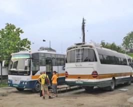 lokale bus nepal