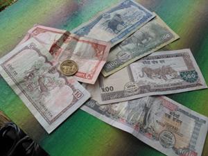 nepal geld