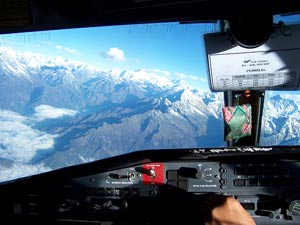 Rondvlucht Mount Everest Nepal reizen