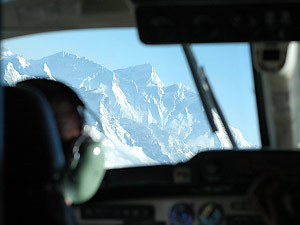 nepal reis everest flight toppen