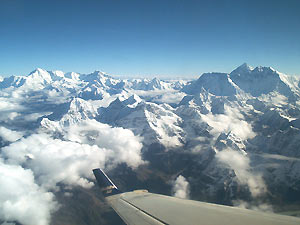 nepal reis everest flight