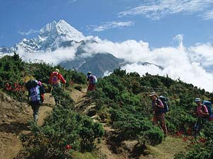 nepal reis everest view