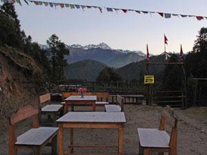 nepal reis helambu ochtend