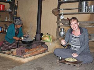 nepal reis helambu homestay trekking