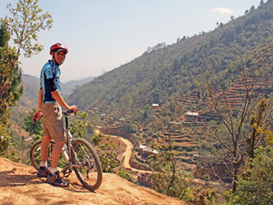 nepal reis mountainbike