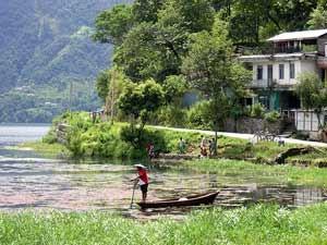 nepal reis pokhara meer