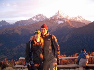nepal reis poonhill zonsopgang