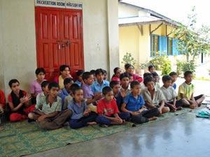 goed doel nepal klas