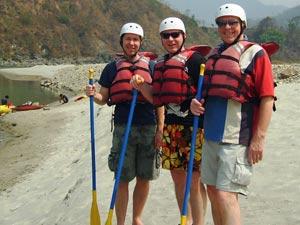 Raften Nepal reis