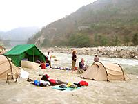 nepal rafting kamp