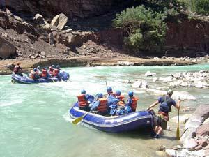 nepal reis rafting