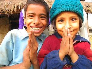nepal reis tharu jongens