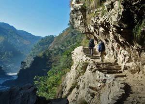 nepal reis trap ghorepani