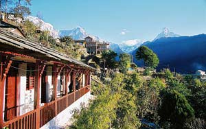 nepal reis uitzicht ghorepan