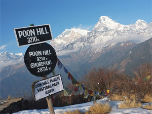 poonhill annapurna - trekking Nepal