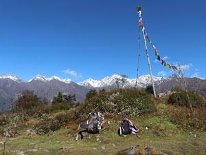 reis nepal helambu lunch
