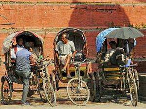 riksja vervoer nepal