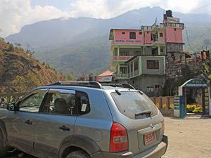 vervoer nepal prive
