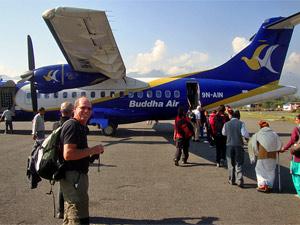 vlucht pokhara airport