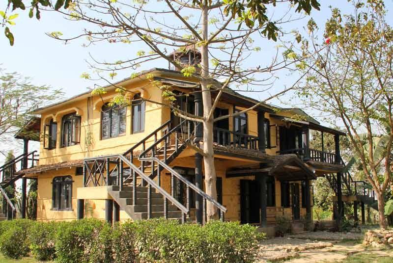 Nepal vakantie - accommodatie Chitwan