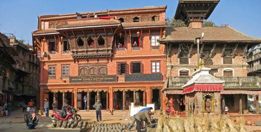 Nepal reizen - binnenstad Khatmandu