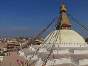 Nepal reizen - Kathmandu tempel