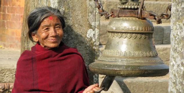 Nepal rondreis - Nepalese vrouw