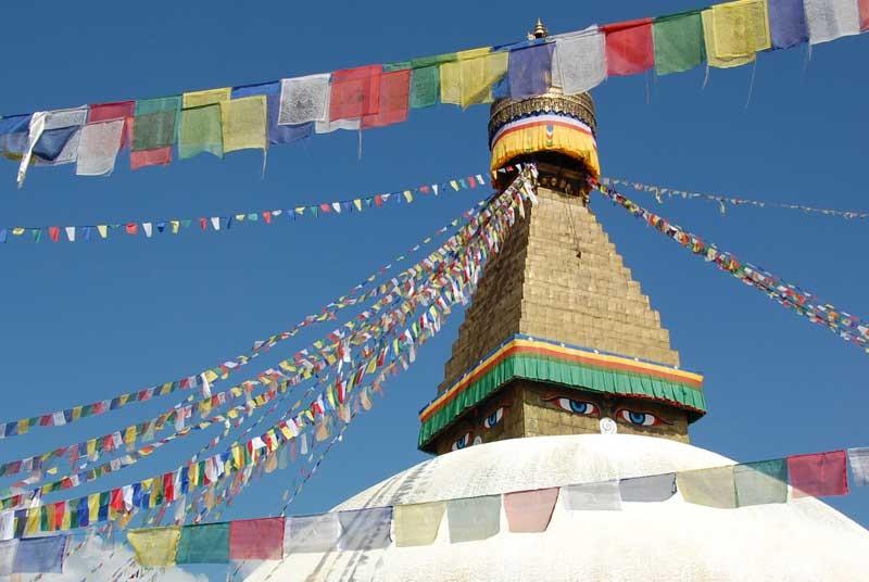 Nepal vakantie - tempel Khatmandu