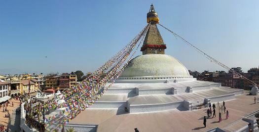Rondreis Nepal - stupa